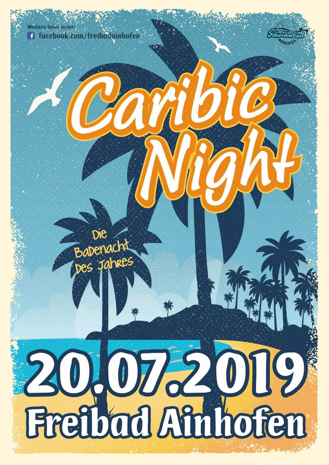 Plakat Caribic Night 2019